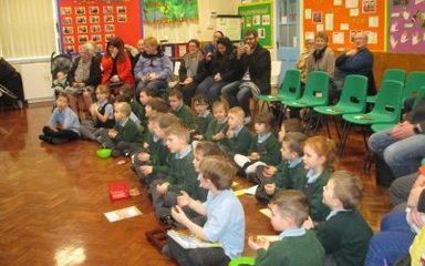 Our class liturgy.